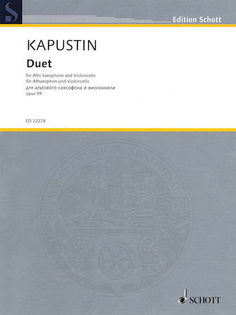 Product Cover for Duet, Op. 99