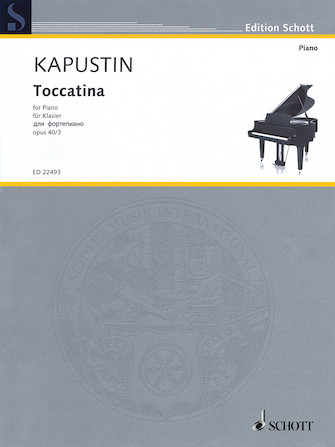 Product Cover for Toccatina, Op. 40, No. 3