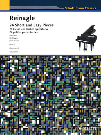 Product Cover for 24 Short and Easy Pieces for Piano, Op. 1