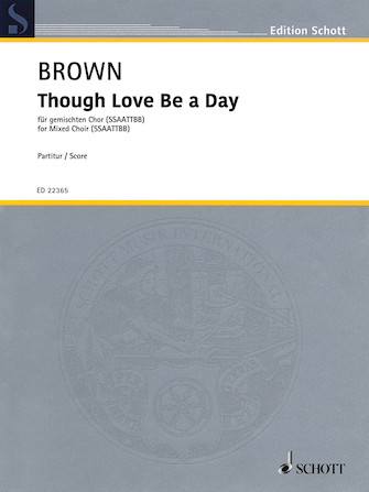 Product Cover for Though Love Be A Day