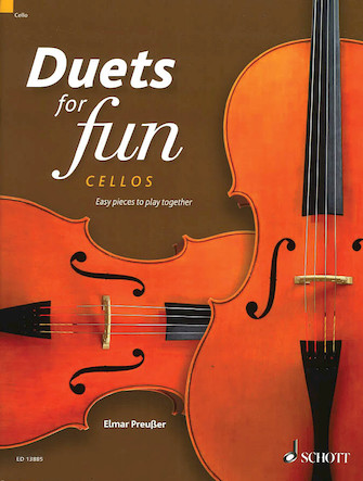 Product Cover for Duets for Fun: Cellos