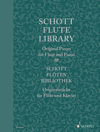 Product Cover for Schott Flute Library