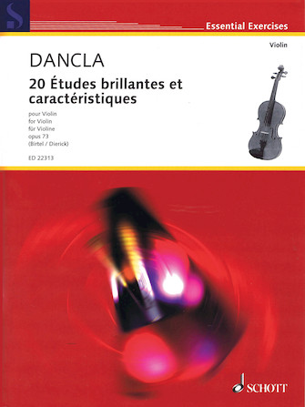 Product Cover for 20 Études brillantes et caractéristiques, Op. 73
