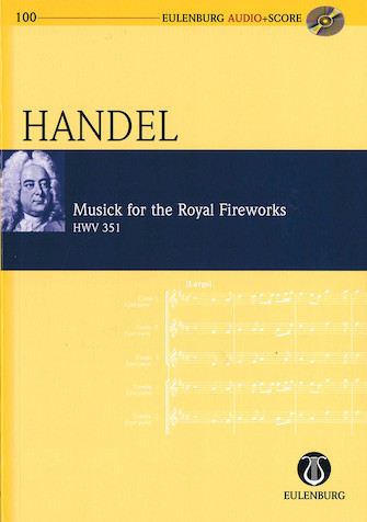 Product Cover for Musick for the Royal Fireworks, HWV 351