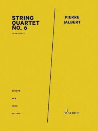 Product Cover for String Quartet No. 6 Score And Parts