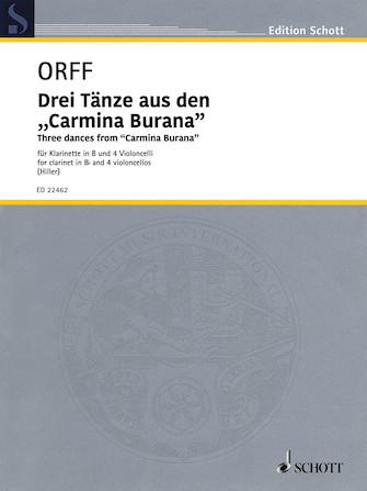 Product Cover for Three Dances from Carmina Burana
