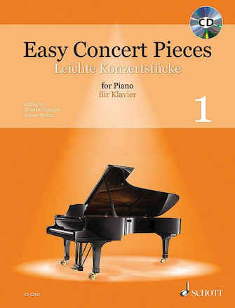 Product Cover for Easy Concert Pieces – Volume 1