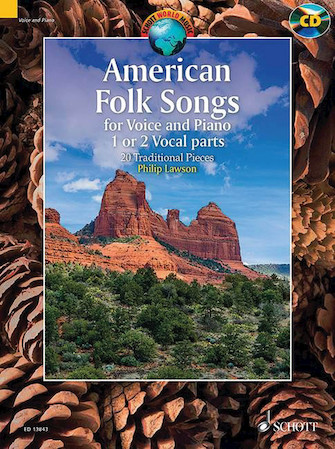 Product Cover for American Folk Songs: 20 Traditional Pieces