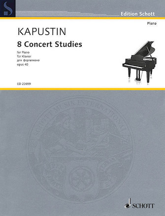 Product Cover for 8 Concert Studies, Op. 40