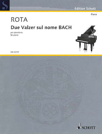 Product Cover for Due Valzer Sul Nome BACH