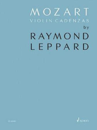 Product Cover for Mozart Violin Cadenzas