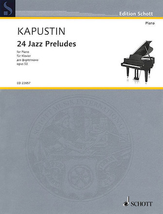 Product Cover for 24 Jazz Preludes, Op. 53