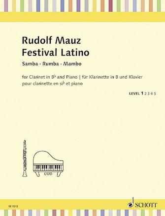 Product Cover for Festival Latino – Samba, Rumba, Mambo