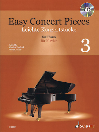 Product Cover for Easy Concert Pieces – Volume 3