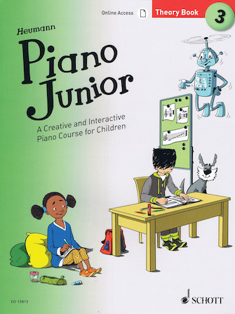 Product Cover for Piano Junior: Theory Book 3