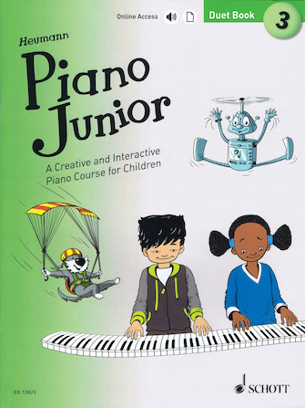 Product Cover for Piano Junior: Duet Book 3