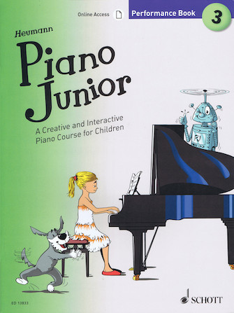 Product Cover for Piano Junior: Performance Book 3