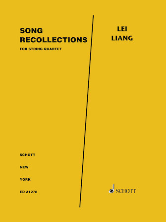 Product Cover for Song Recollections for String Quartet - Score and Parts