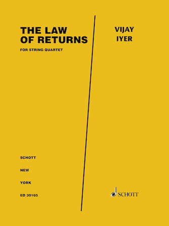 Product Cover for The Law of Returns for Piano Quartet - Score and Parts