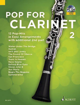 Pop for Clarinet, Book 2