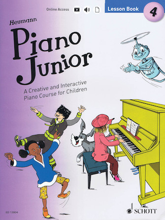 Product Cover for Piano Junior: Lesson Book 4