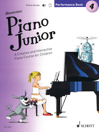 Product Cover for Piano Junior: Performance Book 4