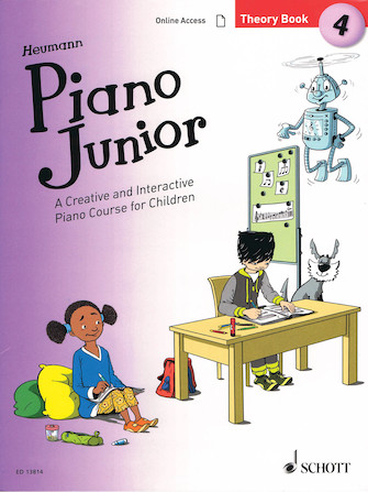 Product Cover for Piano Junior: Theory Book 4