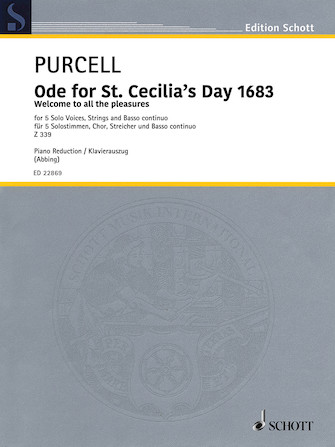Product Cover for Ode for St. Cecilia's Day 1683