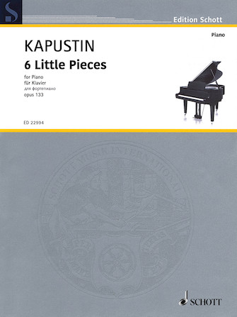 Product Cover for 6 Little Pieces, Op. 133
