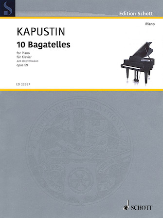 Product Cover for 10 Bagatelles, Op. 59