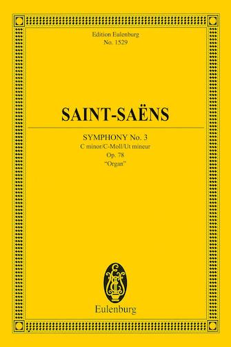 Symphony No. 3 in C minor, Op. 78 'Organ'