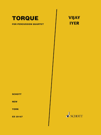 Product Cover for Torque For Percussion Quartet - Score And Parts