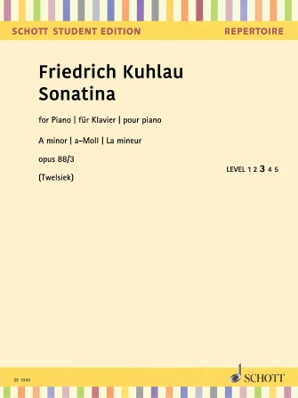 Product Cover for Sonatina in A Minor, Op. 88, No. 3
