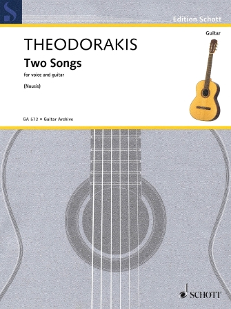 Product Cover for Two Songs