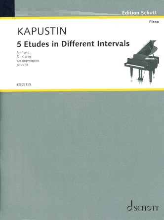 Product Cover for 5 Etudes in Different Intervals, Op. 68