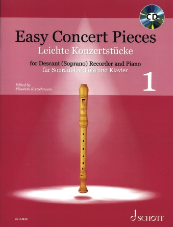 Product Cover for Easy Concert Pieces, Book 1