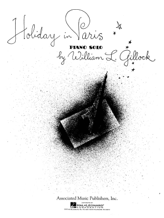 Product Cover for Holiday in Paris