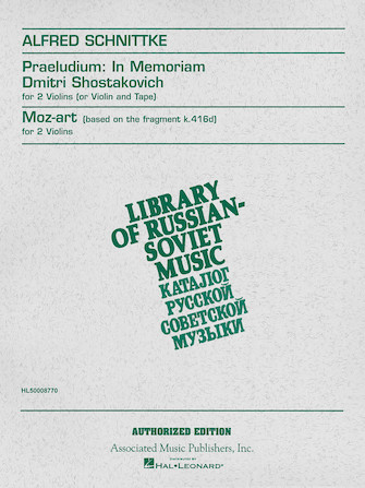Product Cover for Praeludium in Memoriam Dmitri Shostakovich