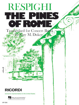 Product Cover for The Pines of Rome