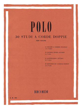 Product Cover for 30 Double Chord Studies