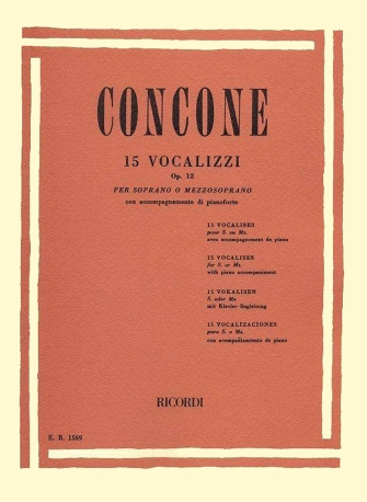 Product Cover for 15 Vocalizzi, Op. 12