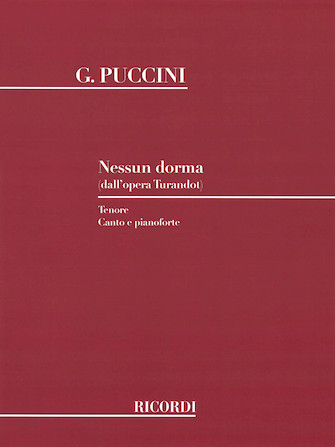 Product Cover for Nessun Dorma (from Turandot)