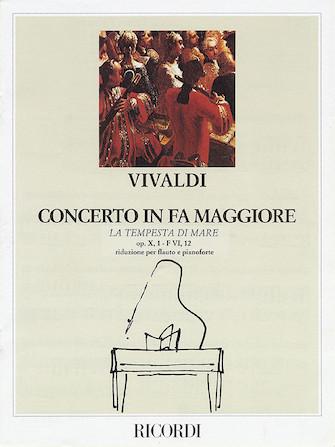 "Product Cover for Concerto in F Major for Flute Strings and Basso Continuo ""La tempesta di more"" Op.10 No.1, RV433"