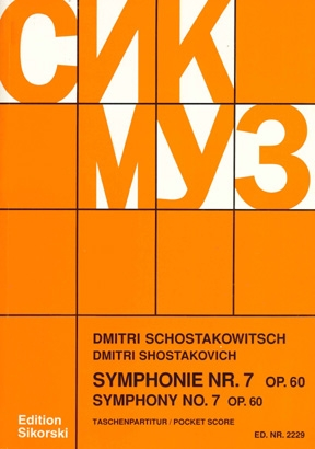 Product Cover for Symphony No. 7, Op. 60