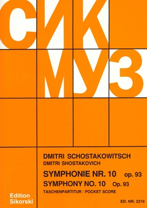 Product Cover for Symphony No. 10, Op. 93