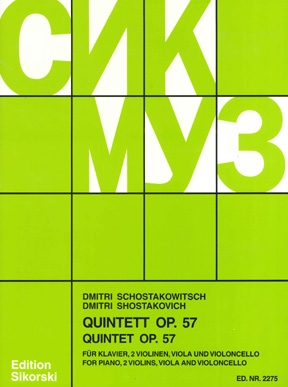 Product Cover for Quintett, Op. 57