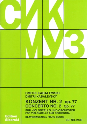 Product Cover for Konzert No. 2, Op. 77