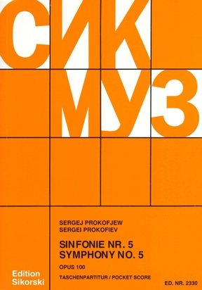 Product Cover for Symphony No. 5, Op. 100