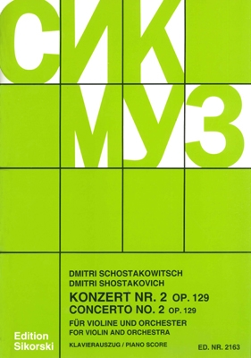 Product Cover for Konzert No. 2, Op. 129