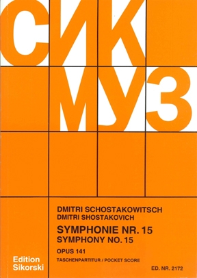 Product Cover for Symphony No. 15, Op. 141